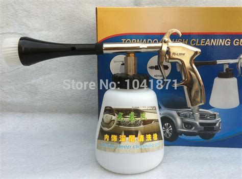 pneumatic car wash spray gun auto upholstery cleaning gun