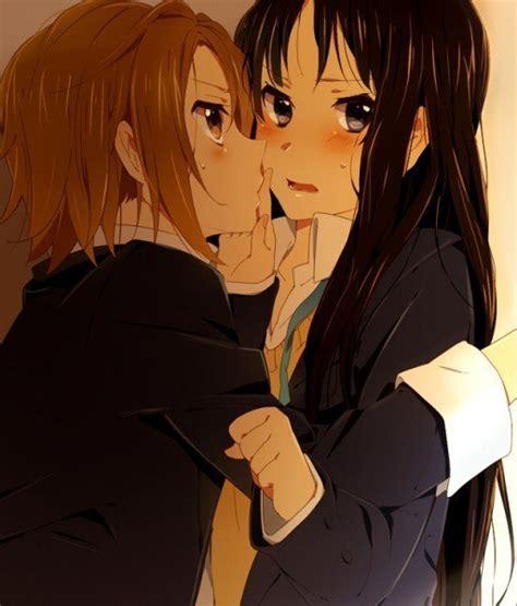 anime couple pp mio x ritsu on pinterest anime couple and sweets