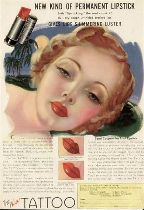 tattoo advertising 17 best images about vintage ads on maybelline