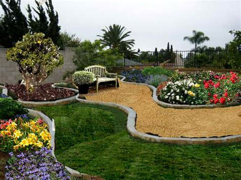 Picture Of A Backyard by Gardening Landscaping Backyard Designs On A Budget