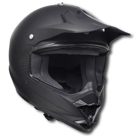 black motocross helmets vidaxl co uk motocross helmet black xl no visor
