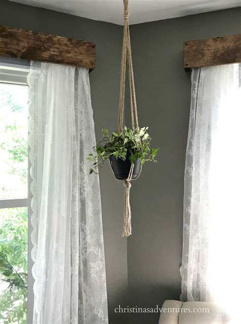 wood curtain how to hang window valance with curtains curtain