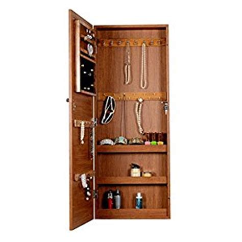 The Door Jewelry Cabinet by Organizedlife Oak Wall Mount The Door
