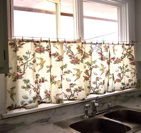 Sew Kitchen Curtains The Deckers No Sew Kitchen Window Curtains