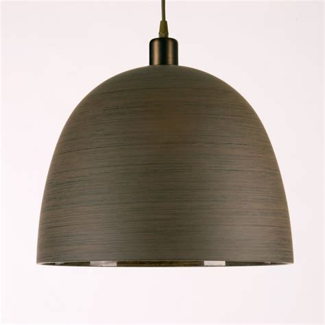 Pendant Lighting Shade Brown Wood Effect Large Glass Ceiling Light Shade For Hanging Pendants