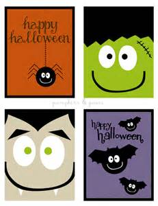 Cute halloween cards that you can print for free fun way for your