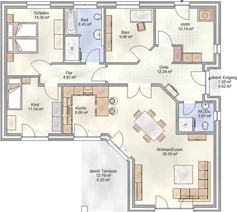 wohnung umrisse bungalow 130 qm wohnfl 228 che unser bungalow plan 128 hat
