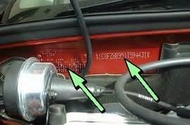 Chrysler Vin Decode Chrysler Pt Cruiser Vin Vehicle Identification Chassis
