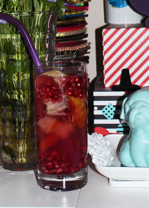 Pomegranate Detox Water Benefits by Pomegranate Apple Detox Water Recipe Home In High Heels
