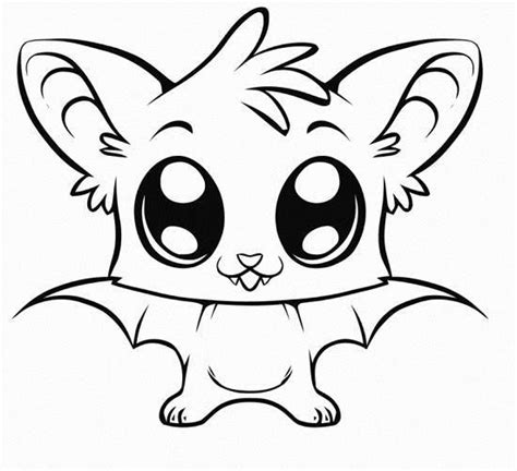 adoreable animals colouring pages