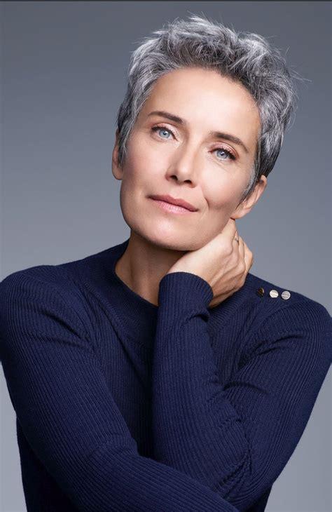 short grey hairstyles pinterest 25 best ideas about short grey haircuts on pinterest