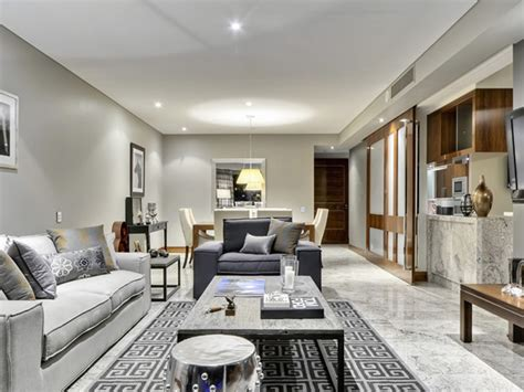 room for living brisbane sophisticated apartment in brisbane featuring marble interiors and a pool futura home