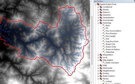 imagenes satelitales raster delimitar autom 225 ticamente una cuenca hidrogr 225 fica en