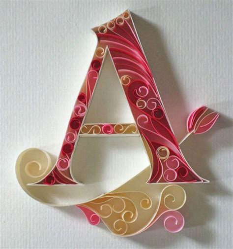 How To Make Paper Quilling Letters - 1000 images about quilling on quilling