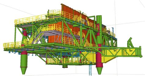 design engineer offshore saipem can oversee entire offshore projects with tekla tekla