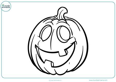 imagenes de calaveras y calabazas dibujos de halloween para colorear mundo primaria