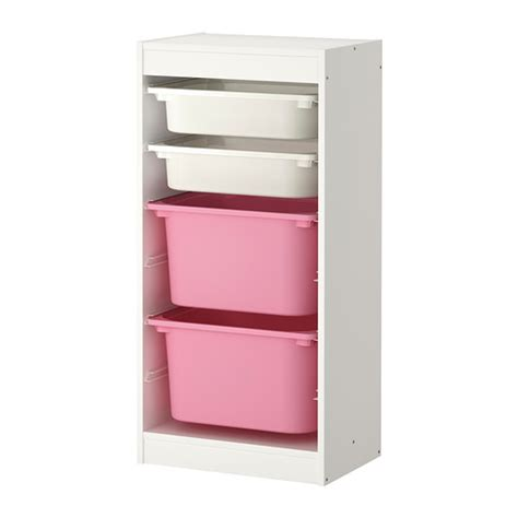 trofast storage combination with boxes white white trofast storage combination with boxes white white pink
