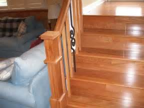 how to repairs how to install wood stair railing how