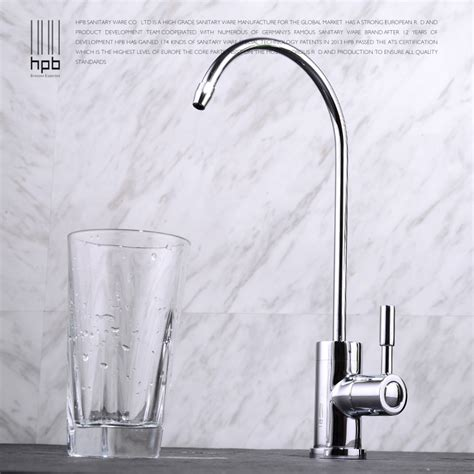 hpb copper purified water sink tap water filter