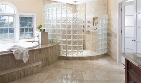 glass block bathroom designs 2018 stylish designs and options for shower enclosures