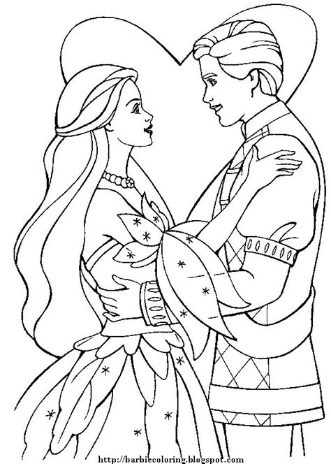 ken doll coloring page barbie coloring pages barbie and ken to print and color