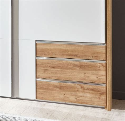 moderner schiebet 252 ren kleiderschrank mit schubladen raca - Kleiderschrank Mit Schubladen Innen