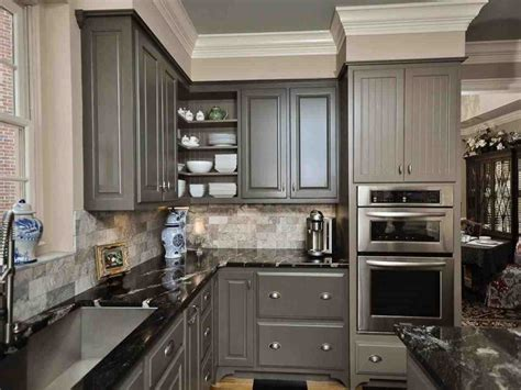 grey kitchen cabinets with black countertops grey kitchen cabinets with black countertops temasistemi net