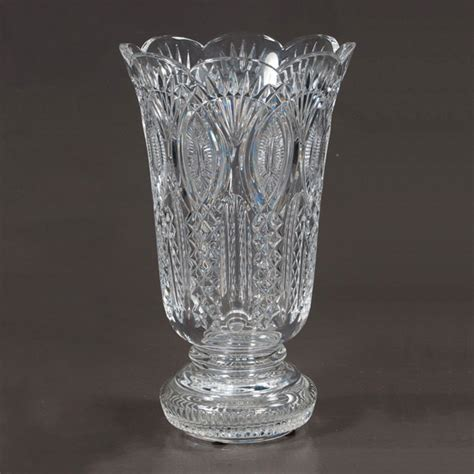 Chrystal Vase by Waterford Vase Clark Antiques Gallery Clark