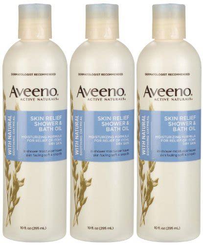 aveeno shower and bath aveeno skin relief shower bath 10 oz 3 pk