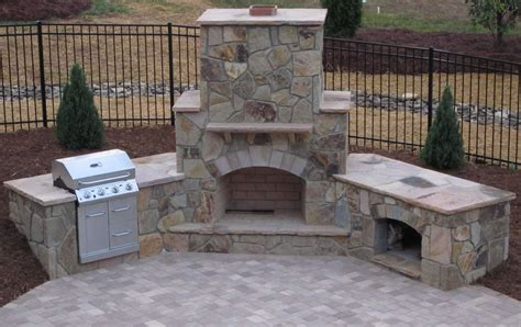 Outdoor Patio Grills by Patio With Fireplace Outdoor Fireplace Grill