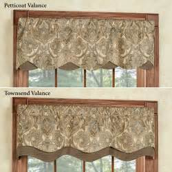 Window Valance Curtains Hollyhock Gold Layered Window Valance