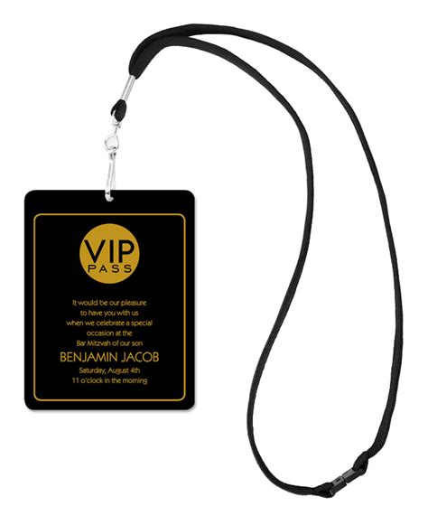 chic vip pass corporate invitations by invitation