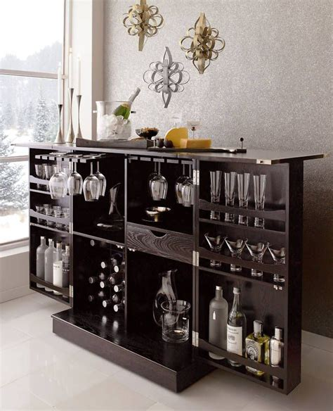 wine liquor cabinet home bar design