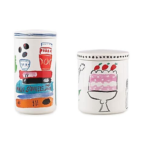 kate spade l home goods kate spade york all in taste canister bed bath