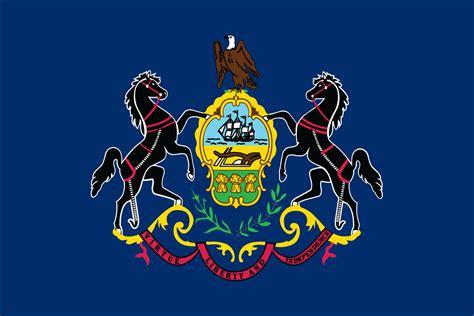pennsylvania state pennsylvania state flag flagnations