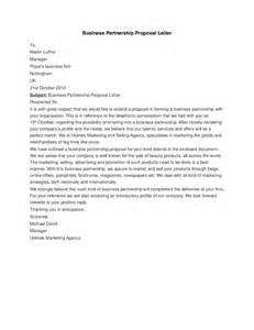 Business Partnership Letter Template by Business Partnership Letter Hashdoc