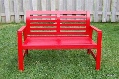 applaro bench painted applaro ikea bench back yard pinterest ikea