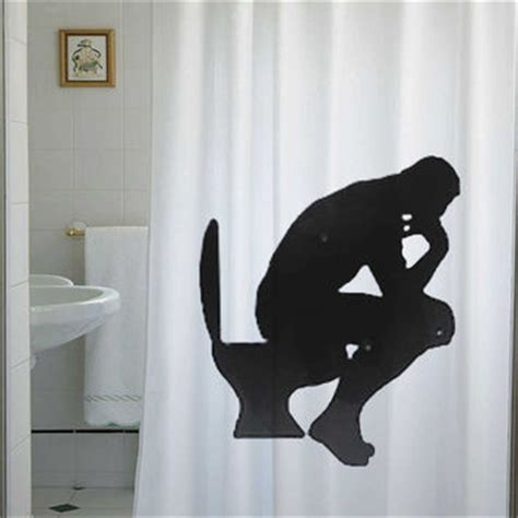 funny shower curtains for men funny shower curtain no urinating pee from lauriecurtain