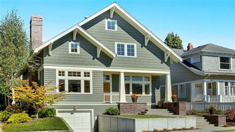 Exterior Home Colors For Small Homes Craftsman Style Exterior Colors Exterior House Colors For