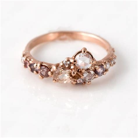 1000 ideas about pearl engagement rings on