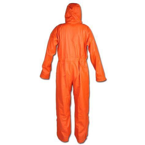 Zia Overall Set Orange quot carolinensiel quot pu wetterschutzoverall farbe orange