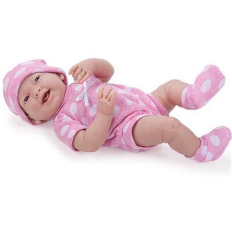 Baby Pink Newborn Babydoll Set la newborn 15 quot all vinyl like baby doll pretty polka