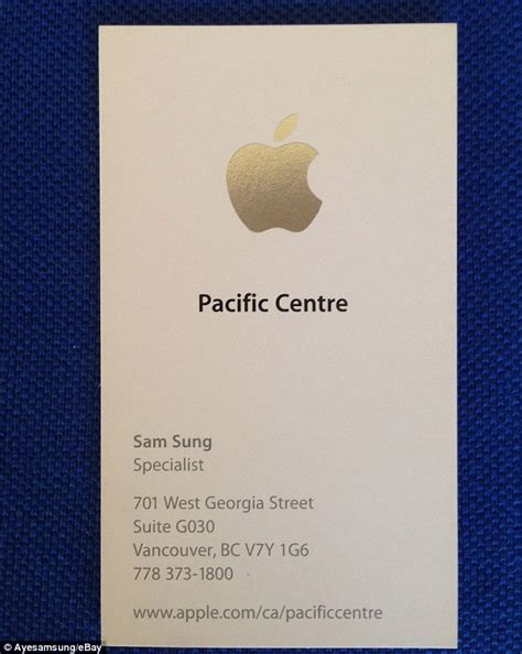 id card design for mac ex apple employee named sam sung auctions off his old