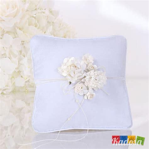 cuscino portafedi fiori cuscino porta fedi sposi decorazione fiori kadosa