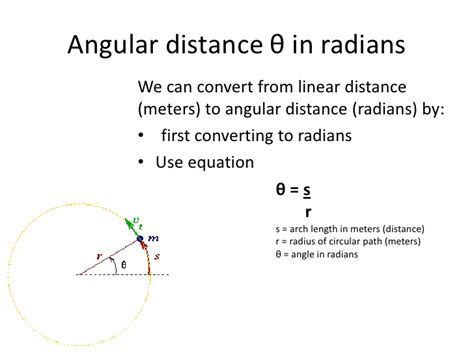 changing meters to rotational motion pt2
