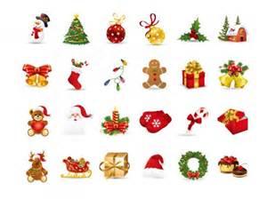christmas elements vector vector free download