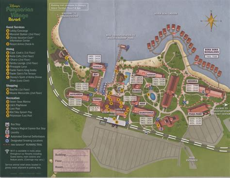 Disney Wilderness Lodge Villas Floor Plan review disney s polynesian village resort