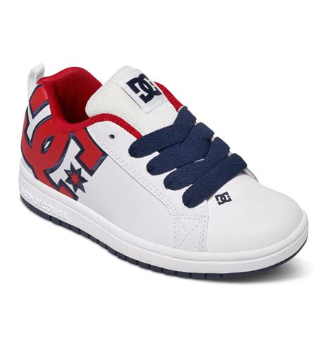 dc kid shoes kid s court graffik se shoes 301131b dc shoes