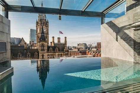 infinity day spa hotels in the uk and ireland with rooftop pools