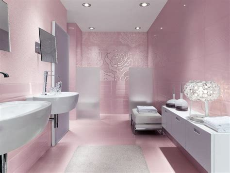 pretty pink bathroom designs carrelage de salle de bains original 90 photos inspirantes
